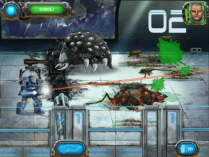 Soldier vs Aliens Screenshot